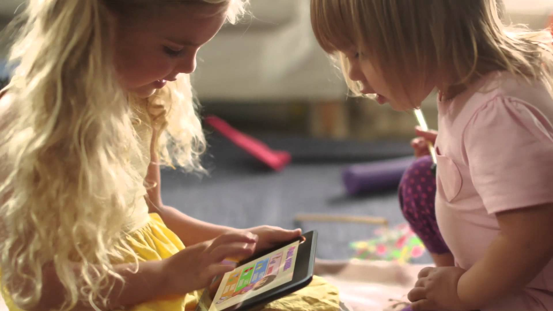 Kindle Fire HD Commercial Song
