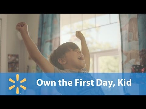 Walmart Quot Own Your First Day Quot Commercial Song